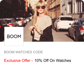 BOOM Watches Offer